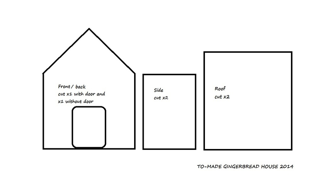 It's just a photo of Epic Gingerbread House Templates Printable